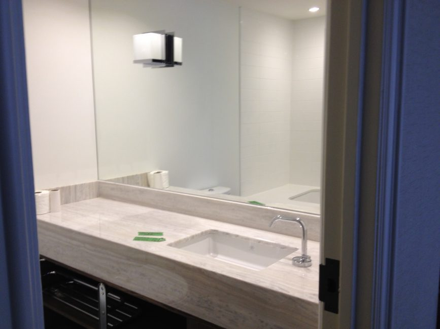 custom bathroom vanity for condo