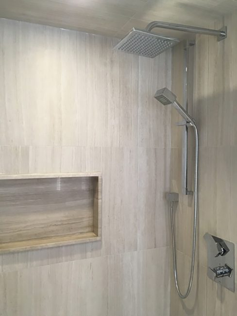 Residential custom shower