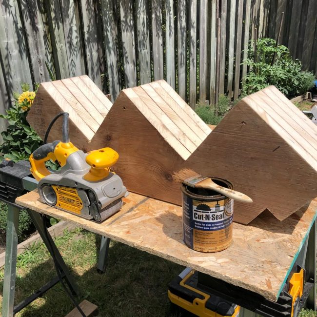 Deck custom stairs